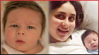 Kareena And Saif Ali Khan's Cute Baby TAIMUR's First Adorable Pictures After Two Month