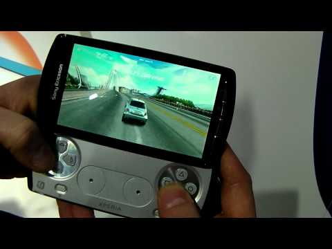 MWC 2011: Sony Ericsson Xperia Play (PSP Phone) preview video