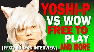 Yoshi-P On Free To Play, World of Warcraft and More [Korean Interview]