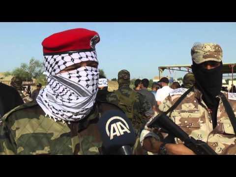 Graduation ceremony of Abdulkadir al  Huseyni Brigades in Gaza