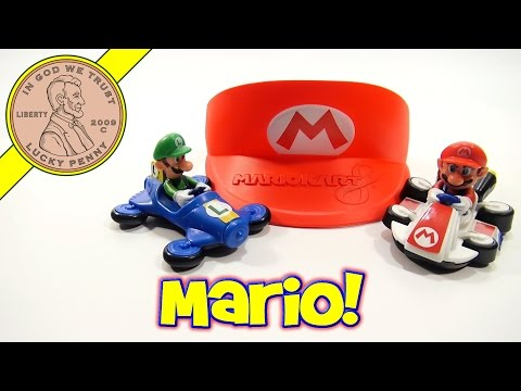 McDonald's Mario Kart 8 Complete Set, Happy Meal Toys 2014
