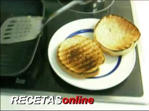 Hamburguesa - Receta de cocina RECETASonline
