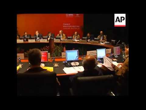 Aus Treasurer opens APEC finance ministers meeting