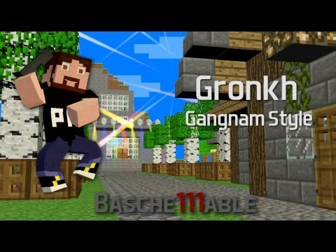 Gronkh Gangnam Style (Minecraft Animation) Music Videos