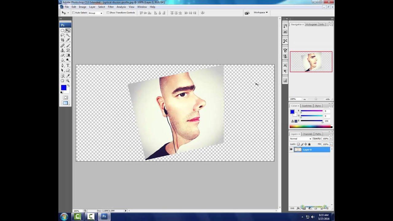 Tutorial Fotomontaggio Photoshop Cs3 Gfci Wiring Diagram On 240 V Ecn Electrical Forums