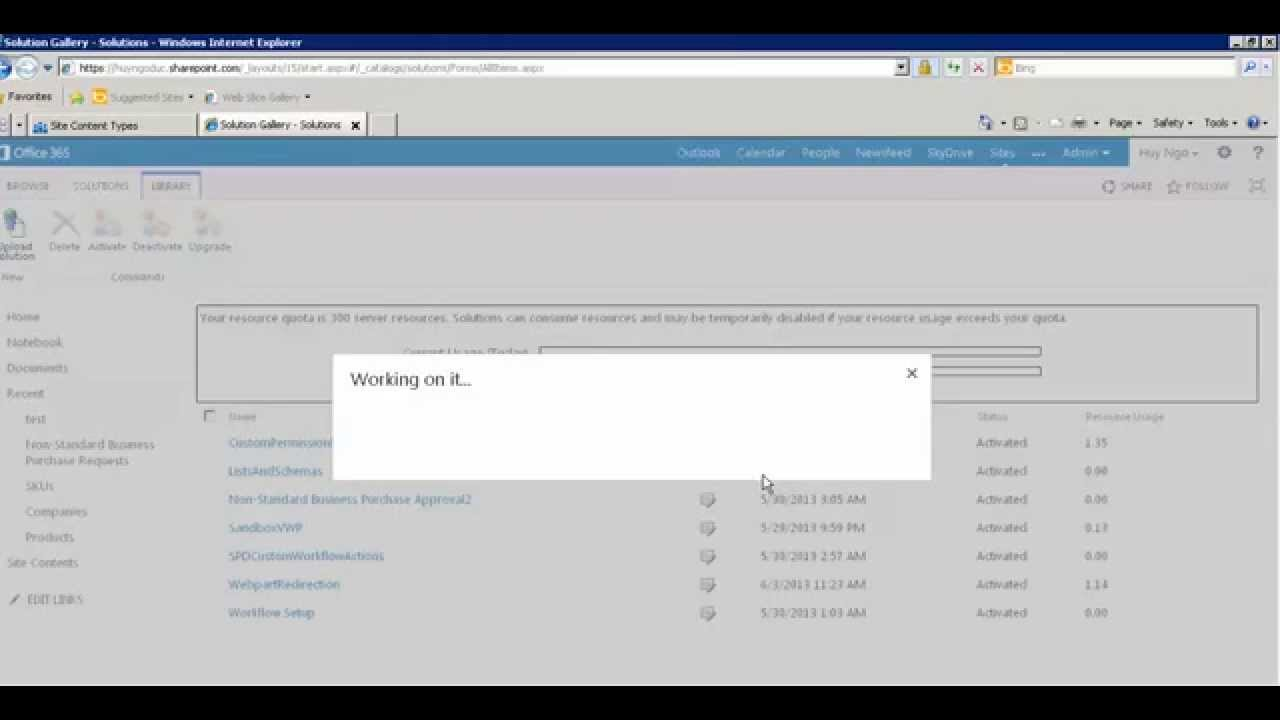 how to create content type in sharepoint 2013