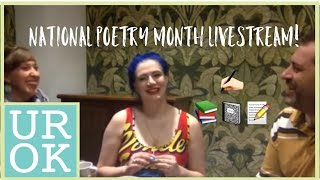Poetry Month Livestream with Caits Meissner and Rich Alexandro