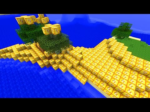 Minecraft Lucky Block ISLAND ROULETTE Mod (FACECAM) w/ BajanCanadian and Lachlan