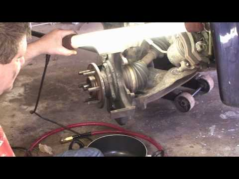 2002 Dodge Dakota - Front Suspension and Drivetrain Service - Part 1