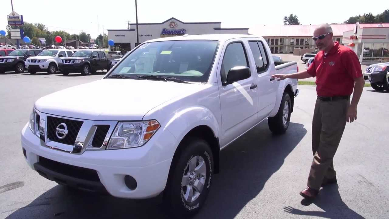 2013 Nissan Frontier Review And Test Drive Youtube