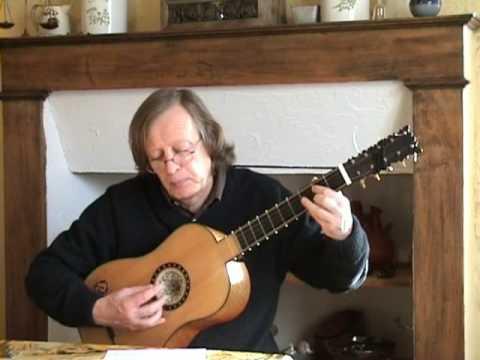 Gaspar Sanz - Rugero&Paradetas - Baroque guitar