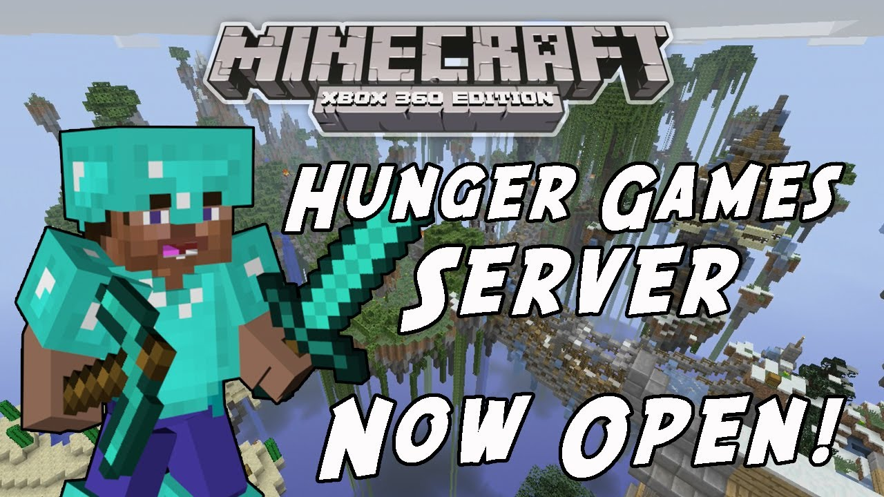 Xbox 360 Hunger Games : Minecraft xbox edition hunger games server now open