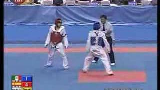 2007 world taekwondo championship 58 kg male Final
