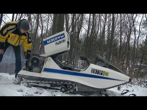 Tuning Up Vintage Raider 2 Stroke Engine