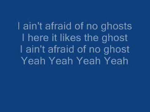 Ghostbusters with lyrics