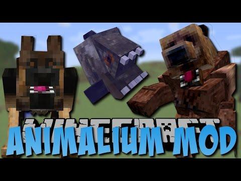REALISTISCHE TIERE in Minecraft!! (Bär, Piranha, Hund) [Deutsch]