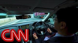 Car maker tests hands-free driving
