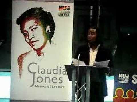 Dr Robert Beckford gives 2007 Claudia Jones lecture