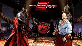 [KOF Memorial Lv.2 Red Edition] Rugal Bernstein & God Rugal vs Geese Howard & Nightmare Geese