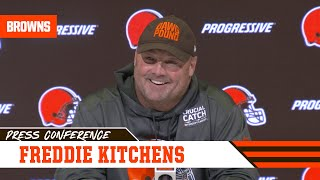 Freddie Kitchens Backs Up Baker & His Ability to Play | Cleveland Browns