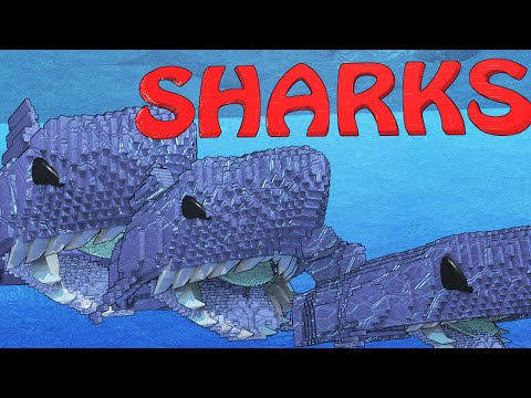 Minecraft | FISHING CHALLENGE - MEGALODON SHARK! (JAWS, SHARKS, SPONGEBOB)
