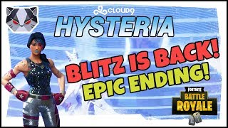 Hysteria | Fortnite Battle Royale - Blitz is Back!  Epic Ending Solo Game