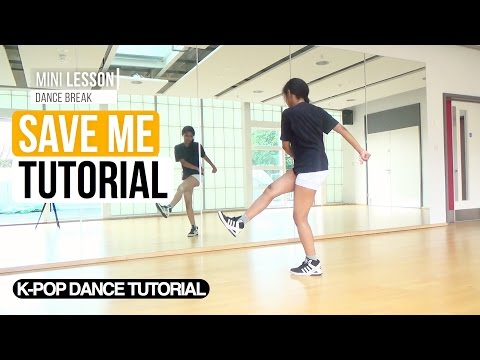 download lagu W/MIRROR BTS 방탄소년단 - Save Me  Dance Tutorial Dance-Break gratis