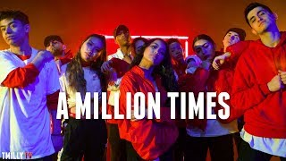 T-Pain - A MILLION TIMES Choreography | by Mikey DellaVella & Jason Rodelo #TMillyTV