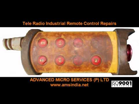 Tele Radio Industrial Remote Control Repairs @ Advanced Micro Services Pvt.Ltd,Bangalore,India