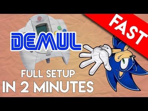 DEMUL Emulator for PC: Full Setup and Play in 2 Minutes (Sega Dreamcast Emulator)