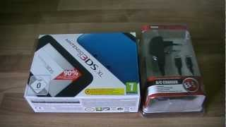 Unboxing 3DS XL deutsch