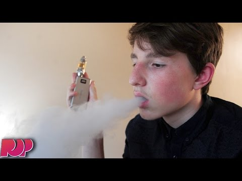14-Year-Old Addicted To E-Cigarettes