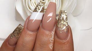 Acrylic Nails   Not Polish   Colour Blocking
