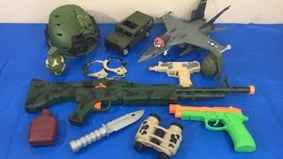 Box of Toys Toy Guns Toy Weapons Military Army Toys