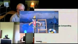 Cisco C90 Telepresence Compositing demonstration