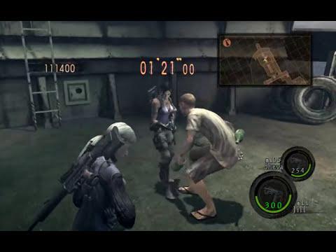 Resident Evil 5 PC Duo Jill (Battlesuit) & Sheva (B.S.A.A.) **Combos Ship Deck** [HD]