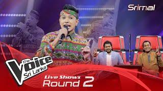 Srimal Fernando   Lunu Dehi   Live Shows Round 02   The Voice Sri Lanka