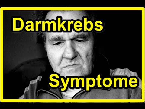darmkrebs anzeichen symptome