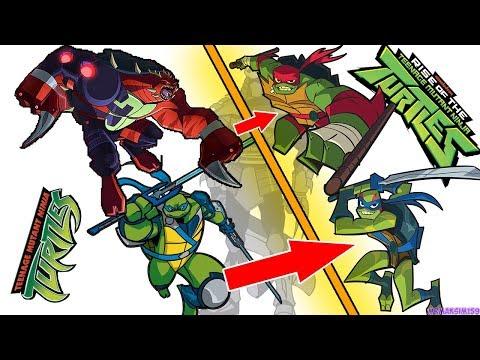 ПОЛНАЯ КОПИЯ НОВЫЕ ЧЕРЕПАШКИ НИНДЗЯ 2018 ? / НОВЫЙ МУЛЬТИК RISE OF THE Teenage Mutant Ninja Turtles