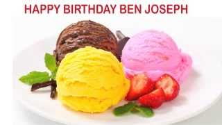 Ben Joseph   Ice Cream & Helados y Nieves - Happy Birthday