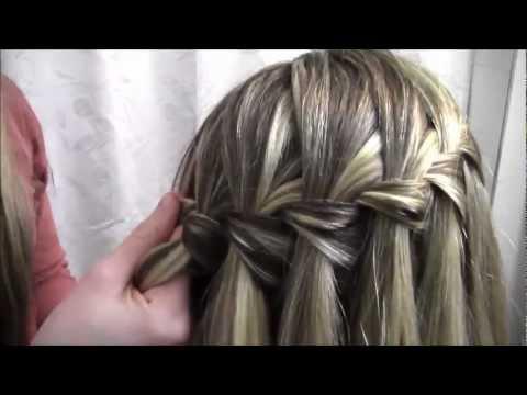 tutorial 8 the waterfall braid  youtube