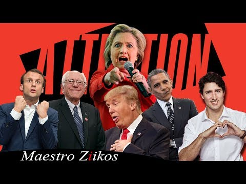 Download Lagu Charlie Puth - Attention ( Acapella Cover ) By Trump, Obama, Trudeau, Macron,Clinton ft. Ziikos MP3 Free