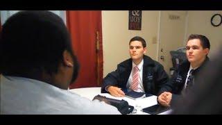 Hebrew Israelites Mormons Knocked on the Wrong Door