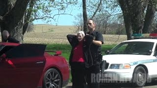 Watch Grandma Get Arrested in Birthday Prank