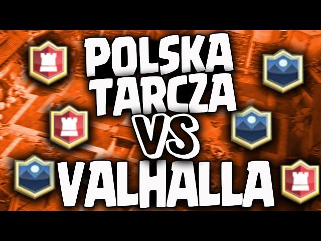STARCIE KLANÓW: POLSKA TARCZA VS VALHALLA PL - CLASH ROYALE POLSKA