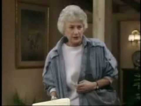 Golden Girls- Dorothy Quotes Clint Eastwood