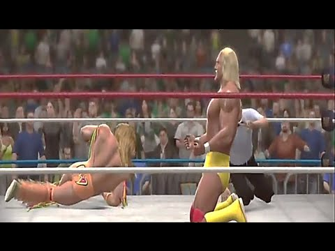 WWE 2K14: 30 Years Of WrestleMania- Ultimate Warrior vs Hulk Hogan | Wrestlemania 6
