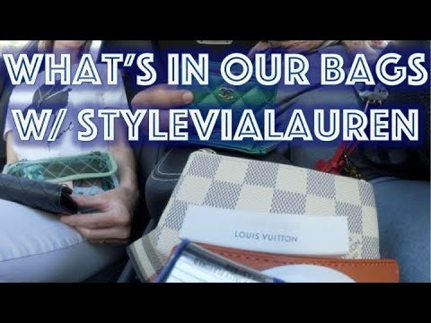 WIMB | What's in my bag? featuring @stylevialauren | docLUXURY
