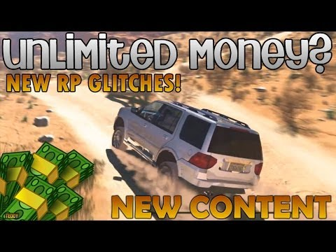GTA 5 ONLINE: *NEW* PATCH 1.09 UPDATE MONEY GLITCH / NEW RP GLITCHES? + NEW DLC CONTENT (GTA V DLC)