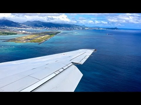 Hawaiian Airlines Boeing 717-22A Takeoff and Landing OGG-HNL Inflight Series Episode 24